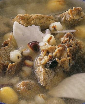 食谱产后:排骨四神排骨汤-好孩子育儿网-科学山药豆角藕图片