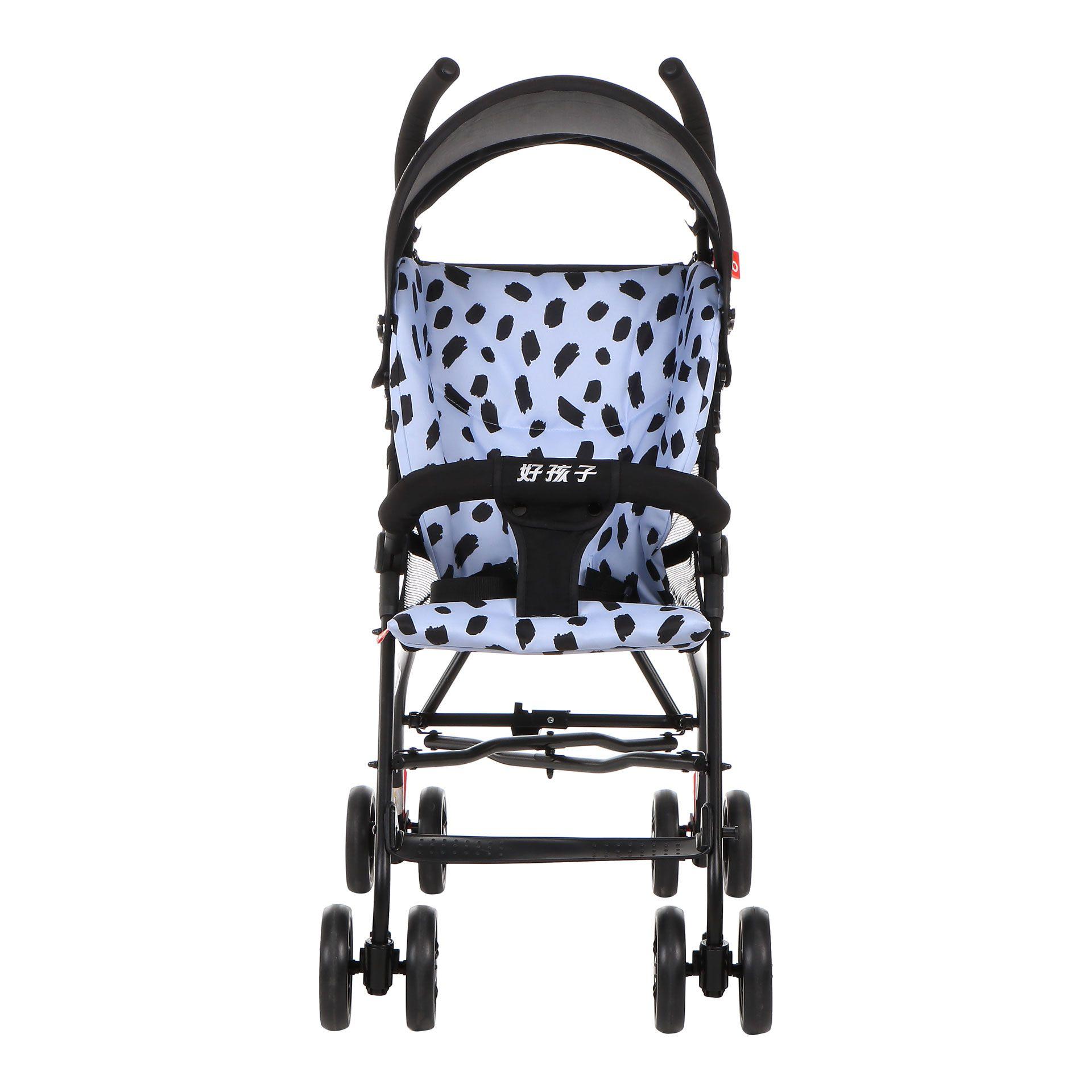 好孩子婴儿推车视频_gb好孩子伞把婴儿推车 可折叠便捷透气宝宝推车 D303-P128BB_好孩子